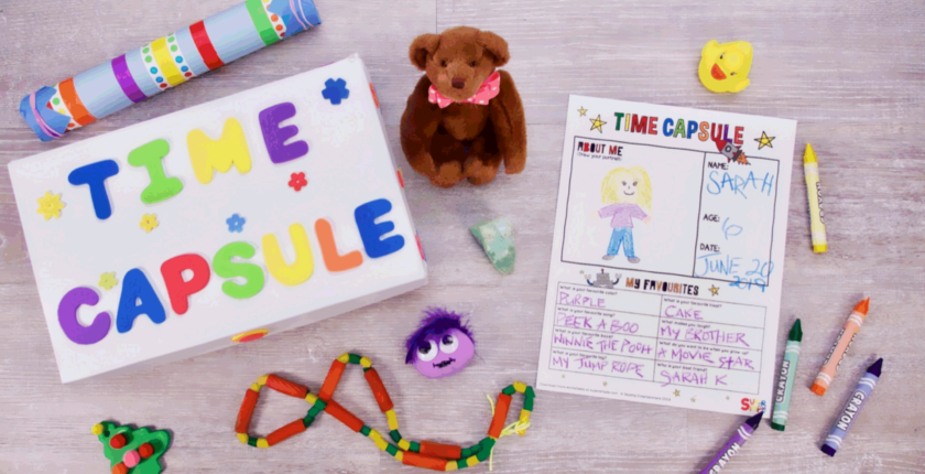 Time Capsule Ideas for Kids