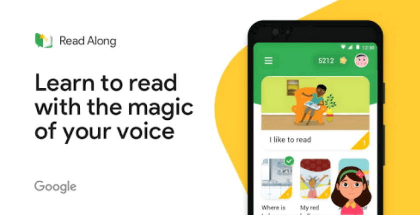 Google Read Along free Reading App